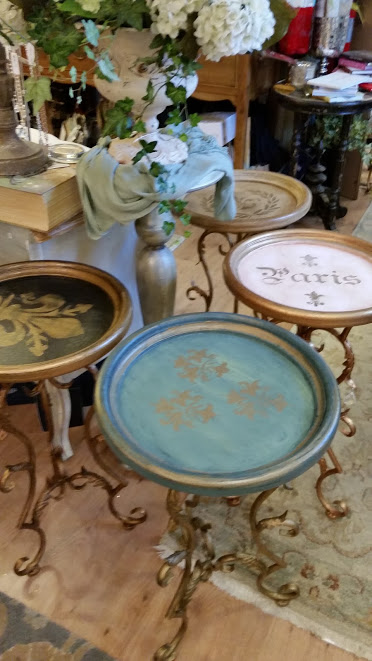 the whistling elk painted furniture
