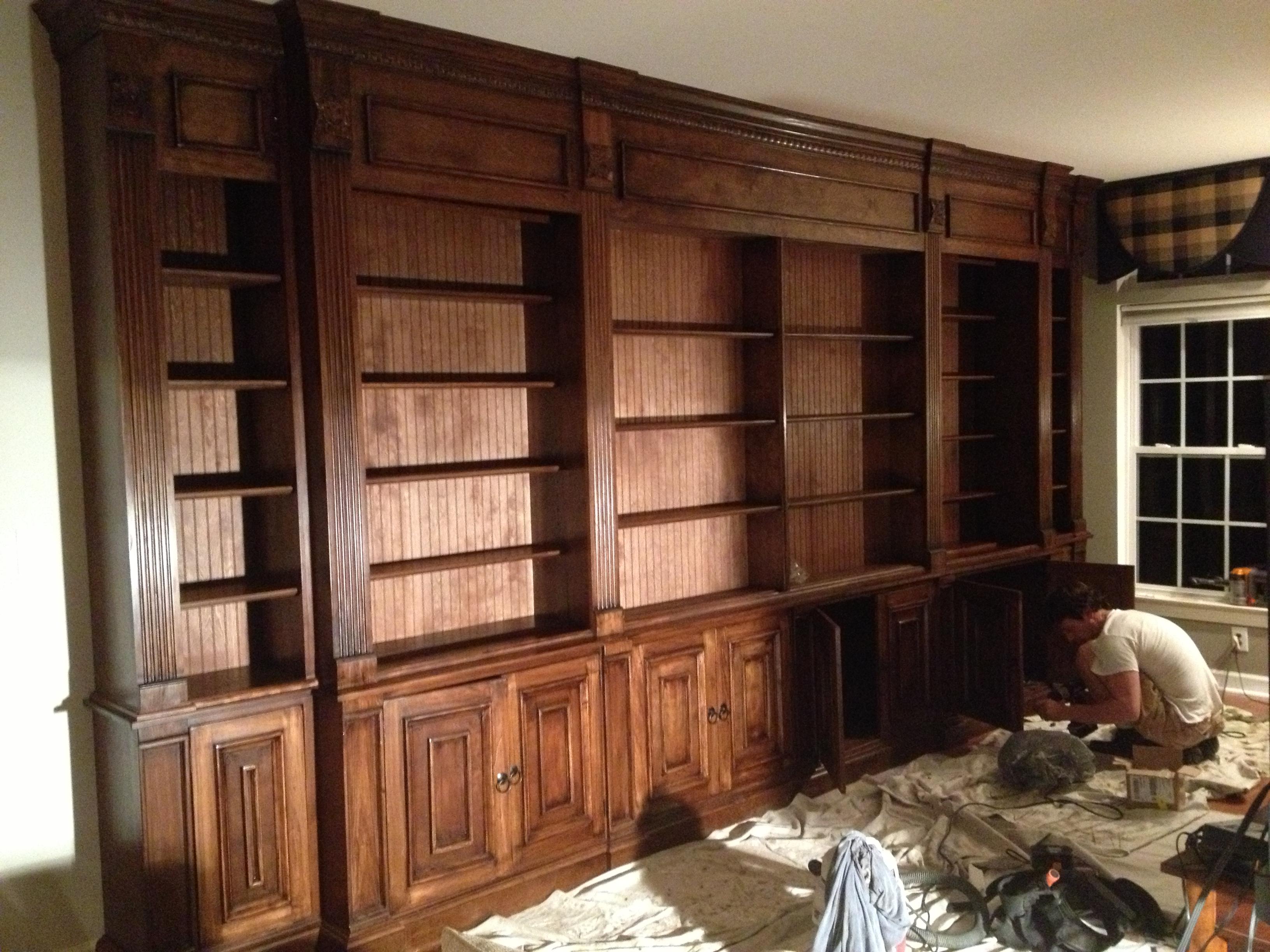 The Whistling Elk Custom Cabinetry. Built In ...