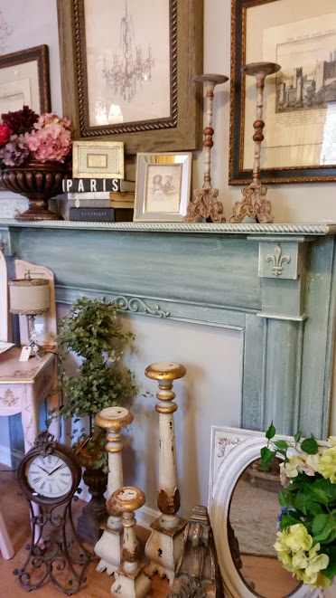 Mantel refinished again with Paint Couture Products!