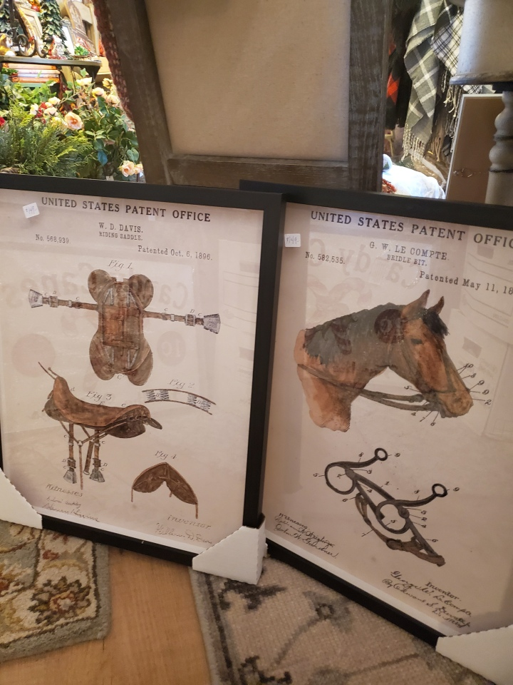 horses and saddles